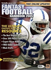 Fantasy Football Handbook 2005 de BradyGames