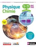Physique-chimie 1re/Term Bac Pro - Groupements 3/4/5/6 (Manuel) - (Spirales) Livre + lic. élève
