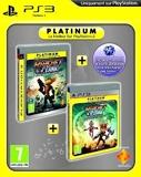 Ratchet & Clank - A crack in time - platinum + Ratchet & Clank : tools of destruction - platinum + code bonus PSN