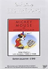 Mickey Mouse, couleur-1ère Partie - Les années 1935 à 1938 [Édition Collector-2 DVD]