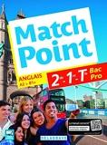 Match Point 2de, 1re, Tle Bac Pro (2017) Pochette élève
