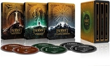 Le Hobbit Trilogie Steelbook 4k Ultra HD [Blu-Ray] [4K Ultra HD - Coffret métal + Boîtiers SteelBook]
