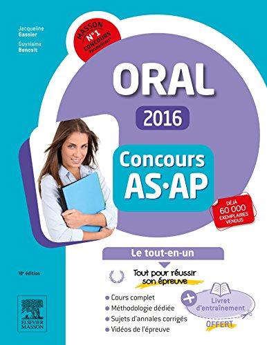 Concours Aide-soignant et Auxiliaire de puériculture 2016 Epreuve orale Le tout-en-un