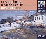 Les Freres Karamazov (Texte Intégral) - Fremeaux & Associes - 13/10/2017