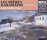 Les Frères Karamazov - 5 CD MP3, Lu par Vincent Violette - Fremeaux & Associes - 13/10/2017