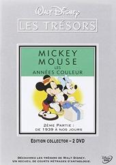 Mickey Mouse, Les années couleur-2ème Partie - De 1939 à nos Jours [Édition Collector-2 DVD]
