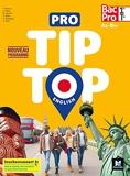 PRO TIP TOP ENGLISH 1re-Tle Bac Pro - Ed. 2020 - Livre élève