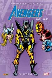 Avengers - L'intégrale 1981-1982 (T18) de David Michelinie