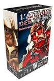 L'Attaque des Titans Coffret T01 à T04 - Coffret 4 tomes