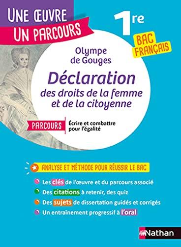 Olympe de Gouges, Déclaration des droits de la femme et de la citoyenne