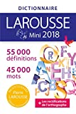 DICTIONNAIRE LAROUSSE MINI 2018