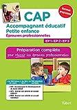 CAP accompagnant éducatif petite enfance - Epreuves professionnelles - VUIBERT - 15/09/2017