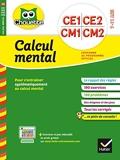 Calcul Mental - Ce1, Ce2, Cm1, Cm2, 7-11 Ans - Hatier - 13/05/2015