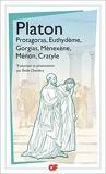 Protagoras - Euthydème - Gorgias - Ménexène - Ménon - Cratyle - Format Kindle - 5,49 €