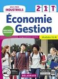 Économie-Gestion 2de, 1re, Tle Bacs Pros Industriels (2020) Pochette élève