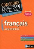 Français admissibilité - Annales corrigées CRPE