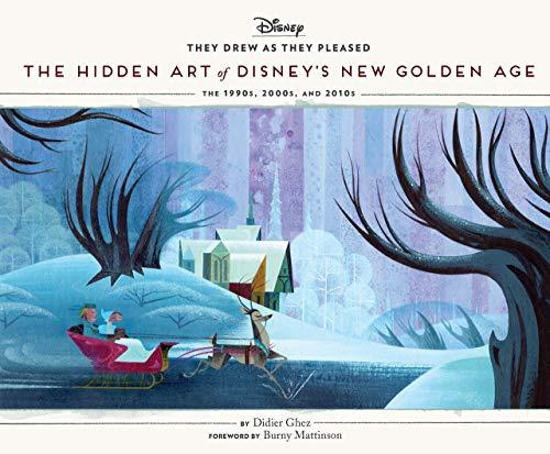Hidden Art Of Disney New Golden Age