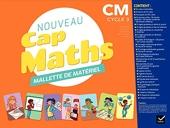 Cap Maths CM1/CM2 Éd. 2020 - Mallette de matériel pour la classe de Roland Charnay