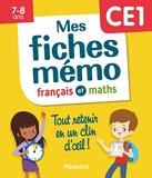Mes fiches mémo Français et Maths CE1 - Tout retenir en un clin d'oeil 2020