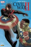 Civil War II n°5 (couverture 2/2)