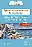 Capes Espagnol. Épreuve écrite disciplinaire. Session 2022 - La composition : Leonardo Padura Fuentes
