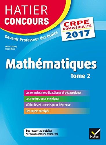 Hatier Concours CRPE 2017