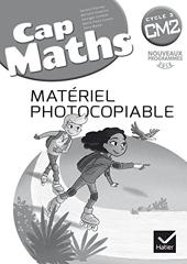 CAP Maths CM2 Éd. 2017 - Matériel photocopiable de Roland Charnay