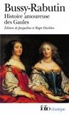 Histoire amoureuse des Gaules by Comte de Bussy-Rabutin (1993-01-22) - Folio - 22/01/1993