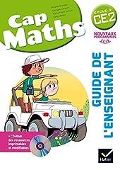 Cap Maths CE2 éd. 2016 - Guide de l'enseignant + CD Rom de Roland Charnay