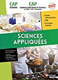 Sciences appliquées - CAP Cuisine et CAP Commercialisation et Services en HRC