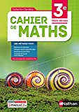 Cahier de Maths - 3e Prépa-Métiers