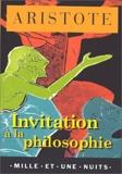 Invitation à la philosophie by Aristote(2000-06-07) - Mille et une nuits - 01/01/2000