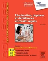 Réanimation, urgences et défaillances viscérales aiguës - Réussir les ECNi de Collège National des Enseignants de Réanimation