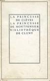 La princesse de cleves, la princesse de montpensier - Armand Colin