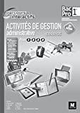 Parcours Interactifs - Activités de gestion administrative - 1re BAC PRO - Corrigé by Joëlle Chapey (2016-05-04) - Foucher - 04/05/2016