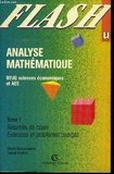 Analyse mathématique Tome 1 - Analyse mathématique