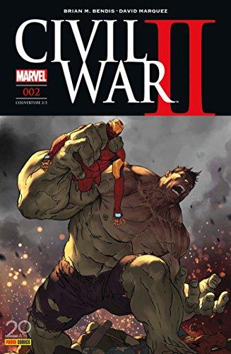 Civil War II n°2 (couverture 2/2)