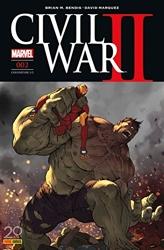 Civil War II n°2 (couverture 2/2) de Brian Michael Bendis