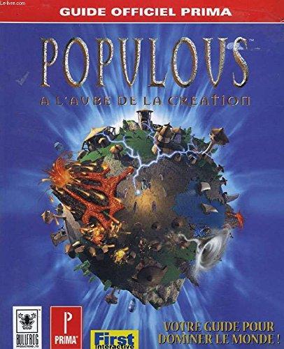 POPULOUS. A l'aube de la création, guide officiel de jeu
