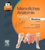 Mémofiches Anatomie Netter - Membres - Elsevier Masson - 15/07/2015