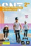 SCIENCES NUMERIQUES ET TECHNOLOGIE 2de - Éd.2019 Manuel élève