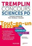 Tremplin Concours Sciences Po Tout-en-un 2022 - Concours commun IEP, Paris, Bordeaux, Grenoble - Concours commun IEP, Paris, Bordeaux, Grenoble (2022)