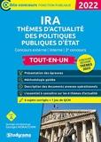 Concours Des Ira – Thèmes D'Actualité Des Politiques Publiques D'État - Concours externe - interne - 3e concours