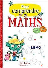 Pour comprendre les maths CE1 - Fichier élève - Ed. 2018 de Paul Bramand
