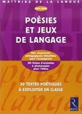 Poésies et jeux de langage CM1 CM2