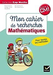 CAP Maths CM1 Éd.2018 - Mon cahier de recherches de Roland Charnay