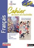 Français - CAP - Cahier de cours et d'activités
