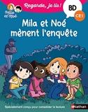 Reg je lis ! BD Mila et Noé mènent l'enquête (CE1) Mila et Noé mènent l'enquête - BD - CE1
