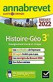 Annales du brevet Annabrevet 2022 Histoire-géographie EMC 3e - Méthodes du brevet & sujets corrigés