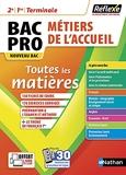 Toutes les matières BAC PRO Métiers de l'Accueil 2de / 1ère / Term - 2022 - Réflexe